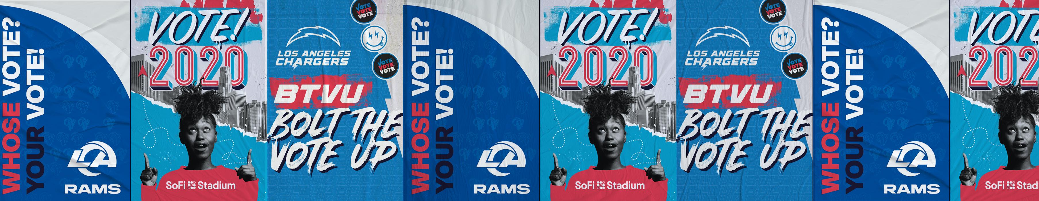SoFi Stadium Vote Center